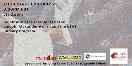 Lincoln Alexander Award Ceremony tickets