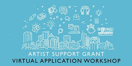 Artist Support Grant: Virtual Application Workshop tickets