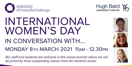 International Women's Day In Conversation With... tickets