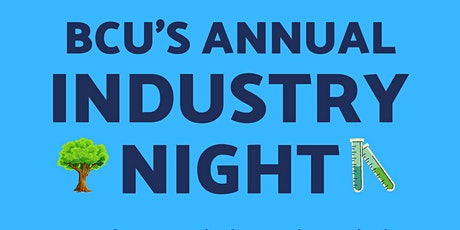 BCU Industry Night tickets