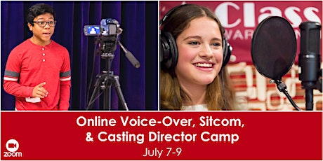 Online Voice-Over, Sitcom and Casting Director Camp tickets