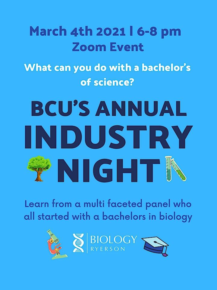 BCU Industry Night image
