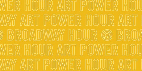 Art Power Hour @ Broadway: Drawing Portraits tickets