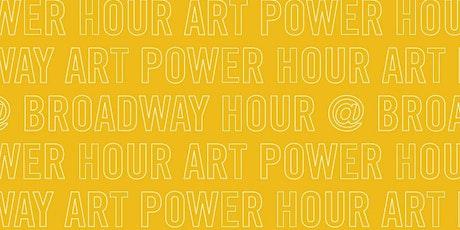 Art Power Hour @ Broadway: Parent + Child Sculpting Class tickets