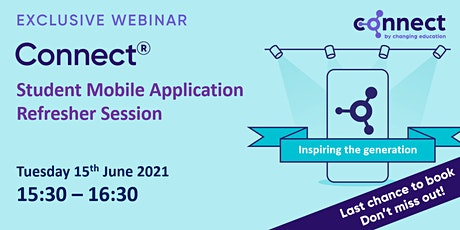 CONNECT - Mobile App Refresher Session tickets