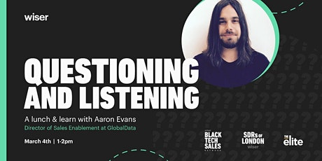 Questioning and listening: A lunch and learn with Aaron Evans tickets