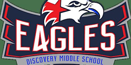 Conoce y saluda a las familias de Discovery Middle School boletos