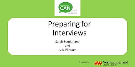Employability Webinar 4 - Preparing for Interviews tickets