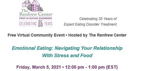 Emotional Eating: Navigating Your Relationship With Stress and Food tickets