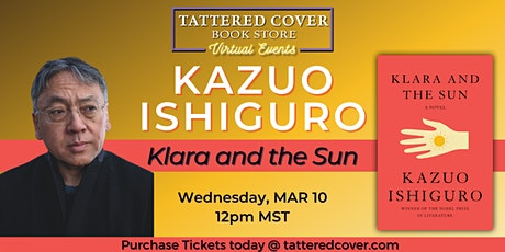 Live Stream with Kazuo Ishiguro tickets