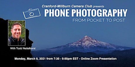 CMCC - Mobile Phone Photography Workshop with Todd Nettelhorst tickets