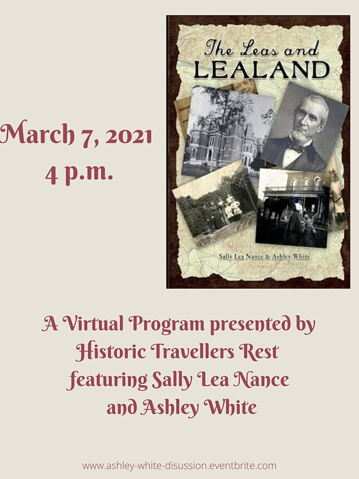 The Leas and Lealand Discussion with Sally Lea Nance and Ashley White image