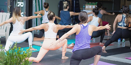 Breathe + Bubbly: A Pop Up Yoga Event tickets
