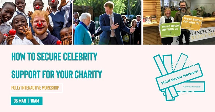 How to Secure Celebrity Support for Your Charity image