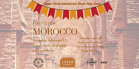 Logan Street International Street Food Series-Morocco tickets