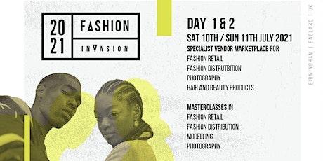 Fashion Invasion tickets