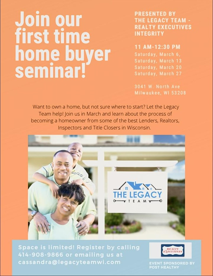 The Legacy Team Homebuyer Seminar image