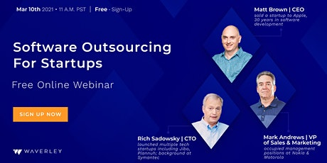 """Webinar: """"Software Outsourcing For Startups"""" tickets"""