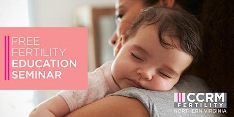 Free Fertility Education Webinar - Vienna, VA tickets