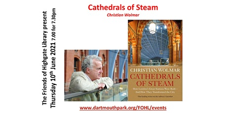 Christian Wolmar - Cathedrals of Steam tickets