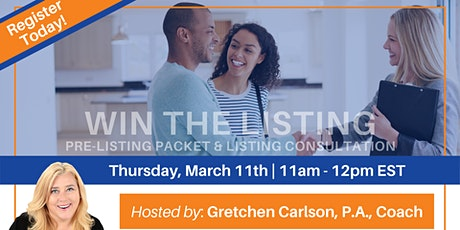 WIN the Listing hosted by Gretchen Carlson tickets