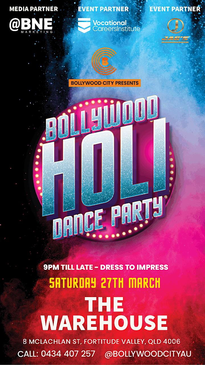 BOLLYWOOD HOLI DANCE PARTY image