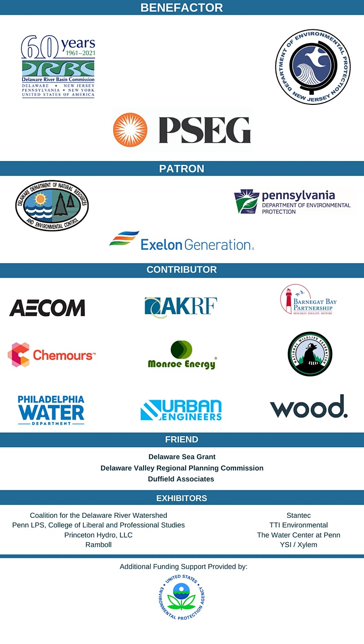 2021 Delaware Estuary Virtual Science & Environmental Summit image