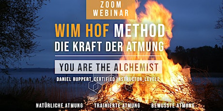 "WIM HOF METHOD - BASIC BREATHING CLASS - ""You are the alchemist"" tickets"