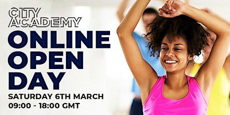 Online Open Day | City Academy biglietti