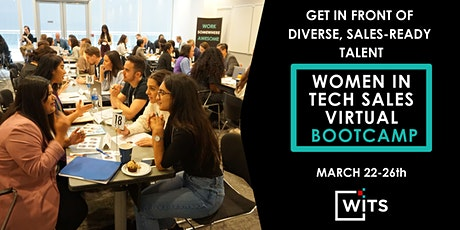 Women in Tech Sales Bootcamp March 2021 - HIRING PARTNER PACKAGES tickets