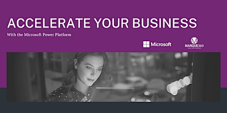 Accelerate Your Business with the Microsoft Power Platform tickets