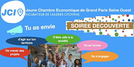 soirée découverte Jeune Chambre Economique de Grand Paris Seine Ouest billets
