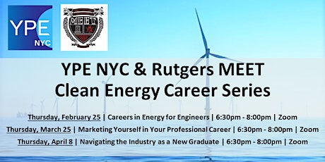 YPE NYC x Rutgers MEET: Navigating the Industry as a New Graduate tickets