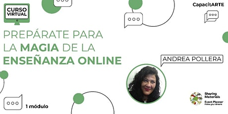 "Curso Virtual ""Preparate para la magia de la Enseñanza Online! boletos"