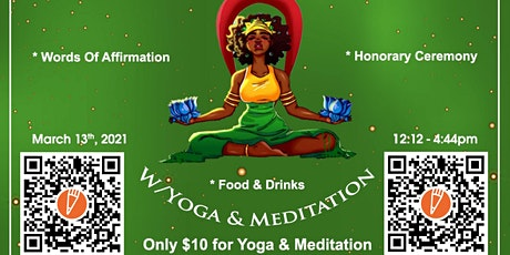 Raise your Vibrations w/ Yoga & Meditation tickets