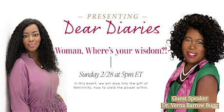 Woman, Where's Your Wisdom? tickets