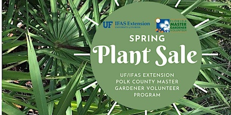 Spring Plant Sale tickets
