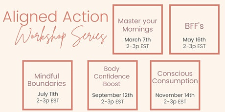 Aligned Action Workshop Series tickets