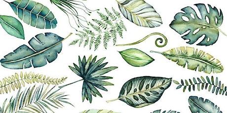 Adult Art Workshop: Watercolor Botany tickets