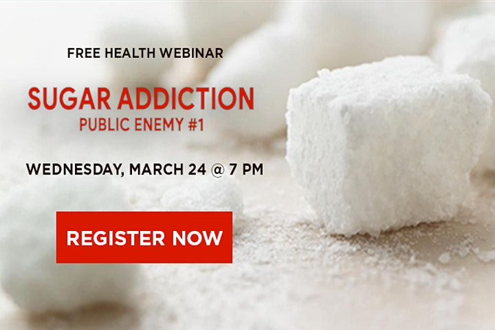 WEBINAR: Sugar Addiction image