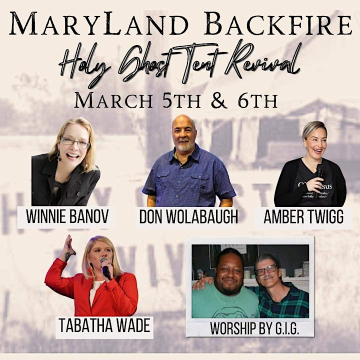 Maryland Backfire- Holy Ghost Tent Revival image