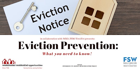 Eviction Prevention Workshop: What you need to know! tickets