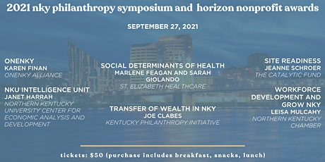 Northern Kentucky Philanthropy Symposium and Horizon Nonprofit Awards tickets