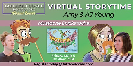 Virtual Storytime with Amy and AJ Young tickets