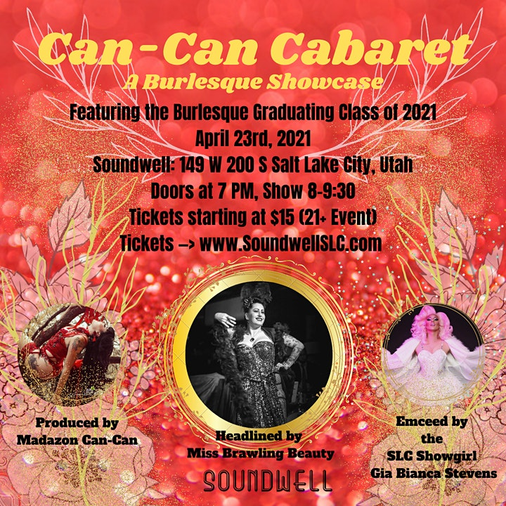 Can-Can Cabaret at Soundwell SLC image