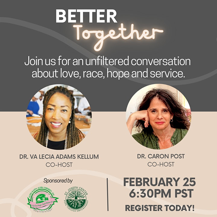 Better Together An Unfiltered Conversation About Love, Race, Hope & Service image