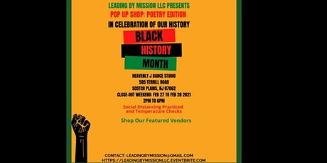 Pop Up Shop: Black History Month: Poetry Edition tickets