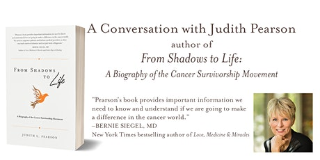 A Conversation with Judy Pearson, author of FROM SHADOWS TO LIFE tickets