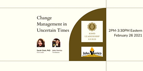 Change Management in Uncertain Times tickets