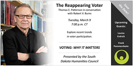 Voting: Why It Matters - The Reappearing Voter with Patterson & Burns tickets